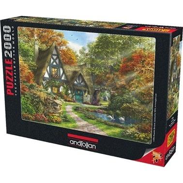 Anatolian  Puzzle 2000 Parça Güz Evi 3936 Renkli